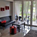 Folyóra néző erkélyes 4 fős apartman 2 hálótérrel (pótágyazható)