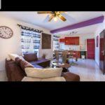 Apartament la etaj cu aer conditionat cu 3 camere pentru 5 pers. (se poate solicita pat suplimentar)