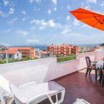 1-Zimmer-Apartment für 2 Personen Obergeschoss mit Aussicht auf das Meer