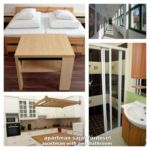 Fürdőszobás 2 fős apartman 1 hálótérrel (pótágyazható)