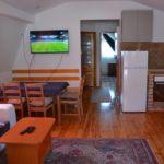 Kertre néző Komfort 6 fős apartman 3 hálótérrel