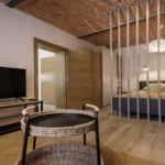 Apartament la parter cu 1 camera pentru 4 pers.