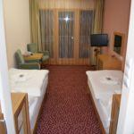 Camera twin standard cu balcon (se poate solicita pat suplimentar)