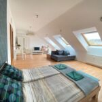 Apartament studio la etaj cu 1 camera pentru 6 pers.