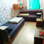 Emeleti Queen kétágyas szoba (pótágyazható)