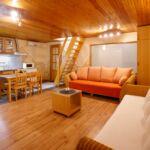 Apartman pro 4 os. se 2 ložnicemi v podkroví