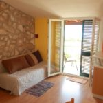 Apartman s klimatizací pro 4 os. s 1 ložnicí s výhledem na moře A-10197-d