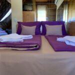 Pokoj s koupelnou s klimatizací s manželskou postelí