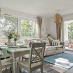 Apartament 10-osobowy Family z widokiem na jezioro z 4 pomieszczeniami sypialnianymi