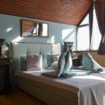 Panorámás légkondicionált háromágyas szoba (pótágyazható)