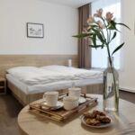 Standard Zweibettzimmer mit Dusche