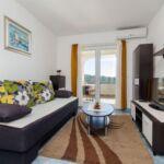 Apartament cu aer conditionat cu vedere spre mare cu 1 camera pentru 4 pers. A-16189-b