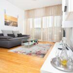 Tengerre néző légkondicionált 4 fős apartman 1 hálótérrel A-16210-a