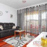 Tengerre néző légkondicionált 4 fős apartman 1 hálótérrel A-16211-b