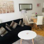 Apartament 4-osobowy z klimatyzacją z balkonem z 1 pomieszczeniem sypialnianym A-16283-a