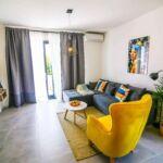 Apartament 8-osobowy z klimatyzacją z widokiem na morze z 2 pomieszczeniami sypialnianymi A-16428-a
