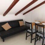 Apartament cu aer conditionat cu balcon cu 1 camera pentru 4 pers. A-16680-f