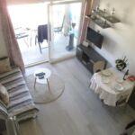 Apartman s klimatizací s terasou s manželskou postelí s 1 ložnicí AS-16754-a