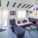 Apartman s klimatizací pro 6 os. se 2 ložnicemi s výhledem na moře A-16825-a