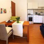 Apartament 4-osobowy z klimatyzacją z widokiem na morze z 1 pomieszczeniem sypialnianym A-17139-c
