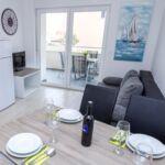 Apartament 4-osobowy z klimatyzacją z tarasem z 1 pomieszczeniem sypialnianym A-17221-f