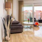 Apartament 4-osobowy z klimatyzacją z tarasem z 1 pomieszczeniem sypialnianym A-17225-i