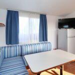 Tengerre néző légkondicionált 4 fős apartman 2 hálótérrel A-17406-h