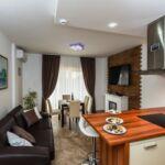 Apartament 4-osobowy z klimatyzacją z widokiem na morze z 1 pomieszczeniem sypialnianym A-17737-a