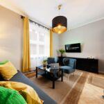 Apartament studio superior cu 2 camere pentru 4 pers.