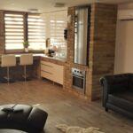 Apartament 2-osobowy Premia z widokiem na rzekę z 1 pomieszczeniem sypialnianym (możliwa dostawka)