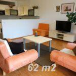 Apartament cu chicineta proprie cu aer conditionat pentru 2 pers. (se poate solicita pat suplimentar)