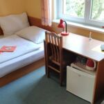 Air Conditioned Twin Room with Shower (extra bed available)