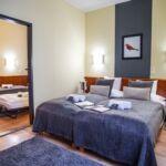 Összenyitott Family franciaágyas szoba (pótágyazható)