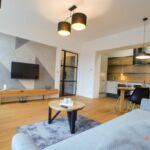 Apartament 5-osobowy z prysznicem z aneksem kuchennym (możliwa dostawka)