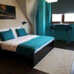 Camera dubla confort la etaj (se poate solicita pat suplimentar)