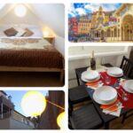Apartament cu chicineta proprie cu bucatarie proprie pentru 4 pers. (se poate solicita pat suplimentar)