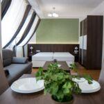Apartament superior cu bucatarie proprie cu 1 camera pentru 4 pers.