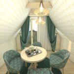 Apartament 6-osobowy Deluxe z wanną z 3 pomieszczeniami sypialnianymi