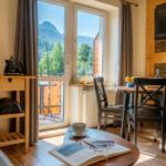 Deluxe Mountain View 2-Room Apartment for 3 Persons