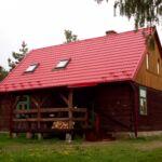 Erdőre néző teljes ház 10 fős faház