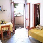 Apartament 4-osobowy Tourist z widokiem na morze z 2 pomieszczeniami sypialnianymi