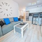 Apartament classic cu aer conditionat cu 2 camere pentru 4 pers.