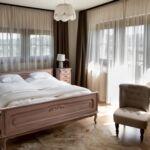 Panorámás erkélyes franciaágyas szoba