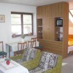 Pokoj s vlastní čajovou kuchyňkou s vlastní kuchyní pro 2 os. (s možností přistýlky)