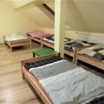 Tetőtéri hatágyas szoba
