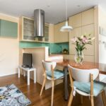 Upstairs 2-Room Balcony Apartment for 4 Persons