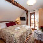Apartament romantica cu cadita de dus pentru 2 pers.
