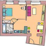 2 fős apartman 1 hálótérrel Lady (pótágyazható)