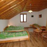 Zuhanyzós háromágyas szoba (pótágyazható)