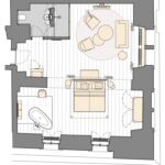 Apartment für 2 Personen mit Dusche
